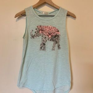 Gaze USA Elephant Tank Top